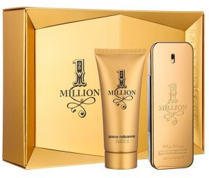 Paco Rabanne -1 MILLION SET 2 | Eau de Toilette 100 ml + Gel de Duche 100 ml
