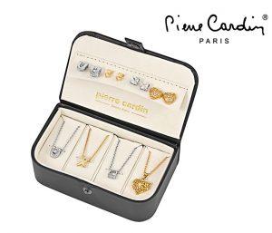 Conjunto Pierre Cardin® Peerless | 4 Colares e 8 Brincos