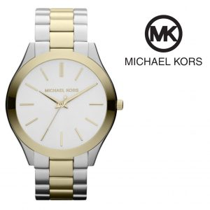 Relógio Michael Kors® Runway Slim Golden Two Tone | 5ATM