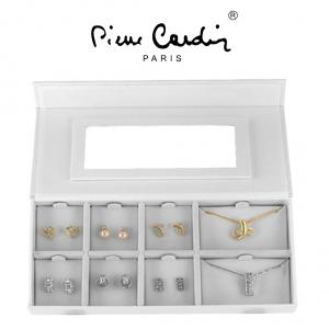 Conjunto Pierre Cardin®Gold & Silver | 12 Brincos e 2 Colares
