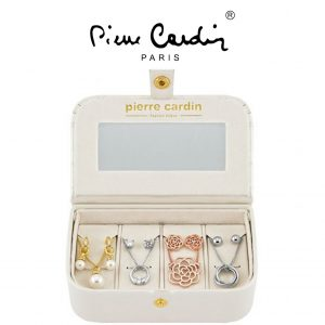 Conjunto Pierre Cardin® Radiant Crystal | 4 Colares e 8 Brincos