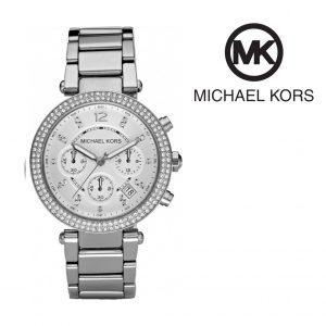 Relógio Michael Kors® Parker Silver Dial | Cronógrafo | 3ATM