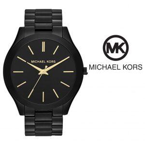 Watch Michael Kors® Slim Runway Black Dial | 5ATM
