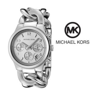 Watch Michael Kors® Chronograph Chain Bracelet Silver | 5ATM
