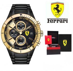 Relógio Ferrari®Quartz Black Casual