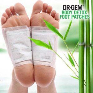 Adesivos de Desintoxicação Para Pés Dr Gem