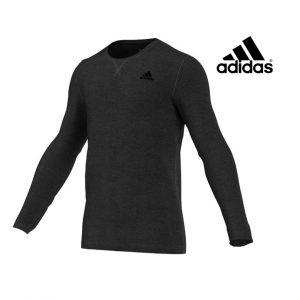 Adidas® Camisola Essentials Cinza | Tecnologia Climalite®