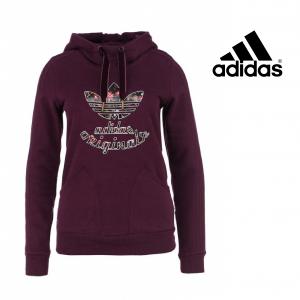 Adidas® Hoody Moscow Slim Adidas Originals | Roxo