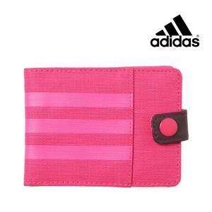 Adidas®  Carteira 3-Riscas Performance | Rosa