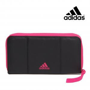 Adidas® Carteira Performance Horizontal   Preto e Rosa