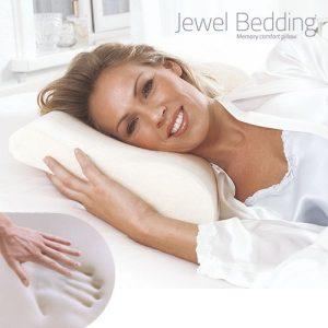Almofada Para o Pescoço de Espuma Viscoelástica Jewel Bedding