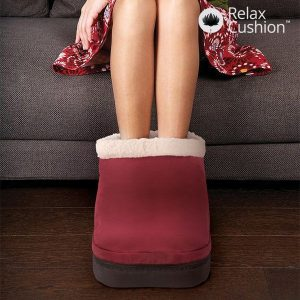 Aquecedor e Massajador de Pés Relax Cushion