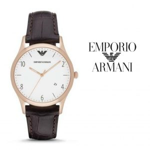 Relógio Emporio Armani® Beta Dark Brown