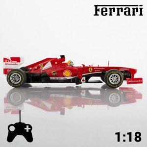 Carro Telecomandado Ferrari F138 | Réplica à Escala de 1:18 Aprox. 27,5 x 7 x 10 cm
