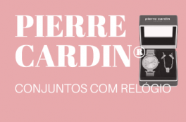 Joalharia Pierre Cardin® Conjuntos Com Relógio