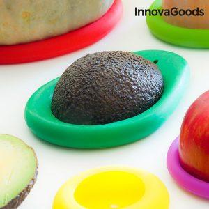 Conjunto De Tampas De Silicone Para Alimentos InnovaGoods Kitchen Foodies | 6 peças