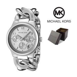 Relógio Michael Kors® Chronograph Chain Bracelet Silver | 5ATM