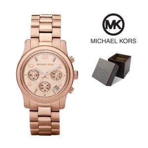 Relógio Michael Kors® Chronograph Rose Gold Dial  | 10ATM
