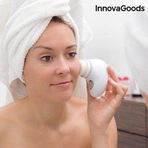 Escova Limpadora Facial InnovaGoods Wellness Beauté