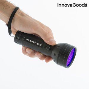 Lanterna LED Com Luz Ultravioleta InnovaGoods Gadget Tech