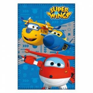 Manta Polar 100 x 150 cm Super Wings