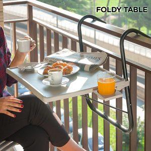 Mesa Dobrável Para Varanda Foldy Table B
