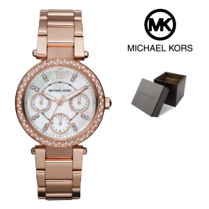 Relógio Michael Kors® Mini Parker Rose Gold | 10ATM