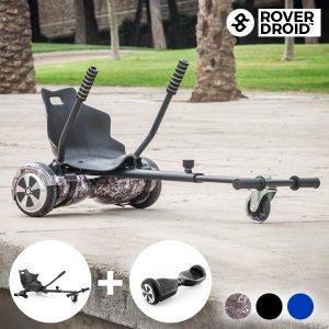 Pack Hoverkart Go! Kart 720 + Hoverboard Rover Droid
