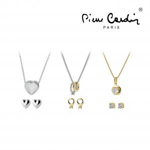 Conjunto Pierre Cardin® 3 Colares e 3 Brincos | Dourado e Prateado
