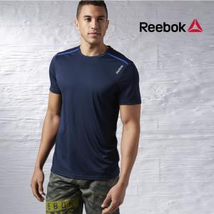 Reebok® T-Shirt Wor Tech | Tecnologia PlayDry | Azul Marinho