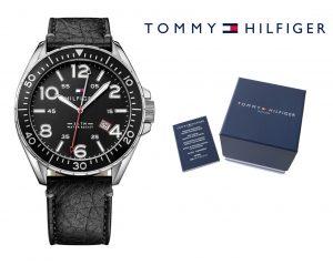 Relógio Tommy Hilfiger® Casual Sport Round Black | 5ATM
