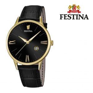 Relógio Festina® Luna Black Dial Black | 42MM