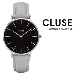Relógio Cluse® La Bohème Silver Black/Grey | 38MM