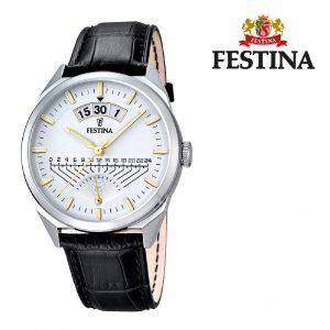Relógio Festina® Aviator Black | 42MM
