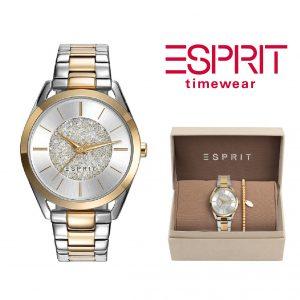 Relógio Esprit® Conjunto Sunrise Way   Com Oferta Pulseira