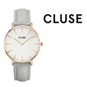 Relógio Cluse® Minuit Rose Gold White/Grey | 33MM