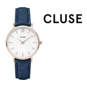 Relógio Cluse® La Bohème Rose Gold White/Denim | 38MM