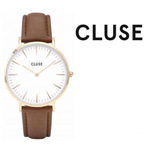 Relógio Cluse® La Bohème Rose Gold White/Brown | 38MM