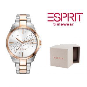 Relógio Esprit® Cecilia Silver   3ATM