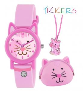 Conjunto Oferta | Relógio Tikkers Cat