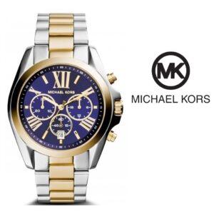 Michael Kors® Bradshaw Chronograph Blue Watch | 10ATM