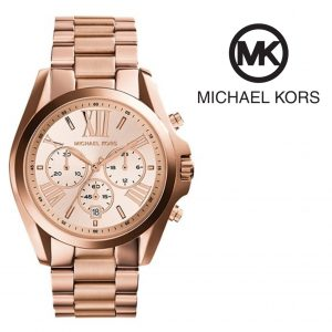 Michael Kors® Bradshaw Chronograph Rose Gold Watch | 10ATM