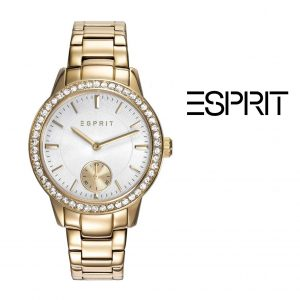 Relógio Esprit® Essentials Crystals | Gold