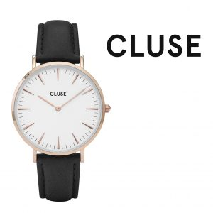 Relógio Cluse® La Bohème Rose Gold White/Black | 38MM