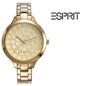 Relógio Esprit® Conjunto Flower Gold | Com Oferta Pulseira