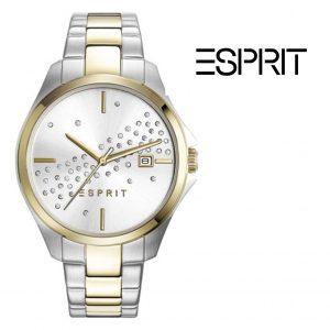 Relógio Esprit® Cecilia | Prateado e Dourado