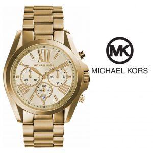 Relógio Michael Kors® MK5605 - Bradshaw Chronograph Gold