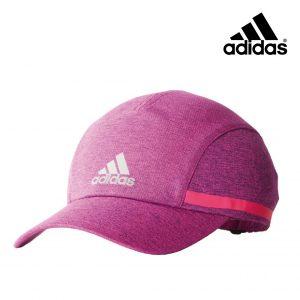 Adidas® Chapéu Running Rosa | Tecnologia Climachill®