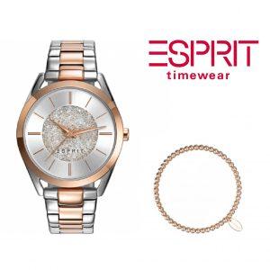 Relógio Esprit® Conjunto Sunrise Way Rose Gold | Com Oferta Pulseira