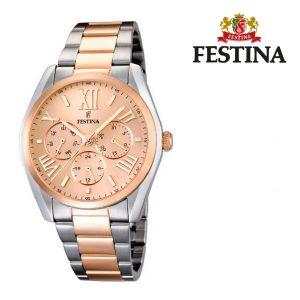 Relógio Festina® Dubai Multi-Functional Rose Gold | 42MM